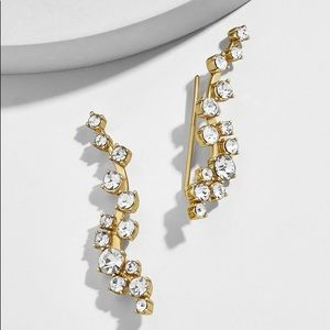 BaubleBar Jewelry - Crystal Ear Crawlers Earrings